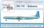 1-144-Douglas-DC-7C-Decals-Sabena