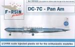 1-144-Douglas-DC-7C-Decals-Pan-Am-Meatball