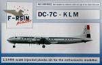 1-144-Douglas-DC-7-Decals-KLM