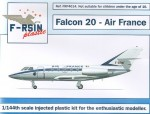 1-144-Dassault-Falcon-20-Decals-Air-France