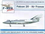 1-144-Dassault-Falcon-20-Decals-Air-France