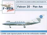 1-144-Dassault-Falcon-20-Decals-Pan-Am