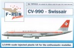 1-144-Convair-CV-990-Decals-Swissair-laser-printed-decals