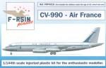 1-144-Convair-CV-990-Decals-Air-France