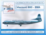 1-144-Vickers-Viscount-800-BMA-silk-screened-decals