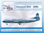 1-144-Vickers-Viscount-800-BMA-silk-screened-decals
