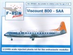1-144-Vickers-Viscount-800-South-African-silk-screened-decals