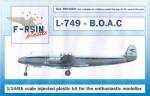 1-144-Lockheed-L-049-L-749-Constellation-BOAC-silk-screened-laser-decals