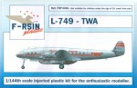 1-144-Lockheed-L-049-L-749-Constellation-TWA-laser-decals