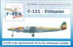 1-144-Lockheed-L-049-L-749-Constellation-Ethiopian-silk-screened-laser-decals
