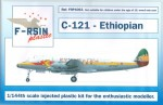 1-144-Lockheed-L-049-L-749-Constellation-Ethiopian-silk-screened-laser-decals