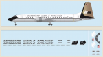 1-144-Canadair-CL-44-Seaboard-World-Airliners-Includes-a-laser-printed-and-silk-screened-decal