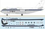 1-144-VFW-614-Luftwaffe-silk-screened-decals
