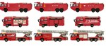 1-150-Working-Vehicles-of-Japan-2-Fire-Engine-Vol-2-1-Box-10pcs