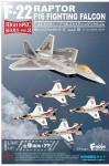 1-144-Highspec-Series-Vol-3-F-22-Raptor-F-16-Fighting-Falcon-1-Box-10pcs