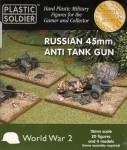 1-120-Russian-45mm-anti-tank-gun-kit-contains-20-crew-figures