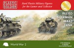 1-72-Sherman-M4A2-3-models-Each-sprue-gives-options-to-build-either-a-75mm-or-76mm-version