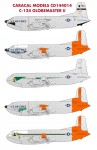 1-144-Douglas-C-124A-Globemaster-II-Multiple-marking-options-for-USAF-C-124-heavy-transport-aircraft-Designed-for-the-Roden-kit-