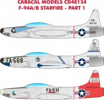 1-48-Lockheed-F-94A-B-Starfire-Multiple-USAF-marking-options-for-F-94A-B-early-jet-fighters