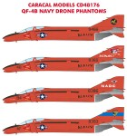 1-48-QF-4B-Navy-Drone-Phantoms-Multiple-marking-options-for-US-Navy-QF-4B-test-drones-from-NADC