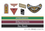 1-35-WWII-German-Military-Insignia-Decal-Set-Africa-Corps-Waffen-SS