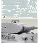 1-35-German-Heavy-Tank-King-Tiger-Porsche-Turret-Coating-Sheet