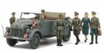 1-35-German-Steyr-1500A-Kommandeurwagen-HG-Staff-Set-w-7-Figures