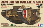 1-35-British-Tank-Mark-IV-Male-Single-Motorized