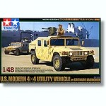 1-48-US-Modern-4X4-Utility-Vehicle-w-Grenade-Launcher