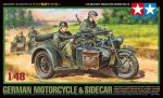 1-48-German-Motorcycle-and-Sidecar
