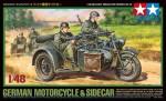 1-48-German-Motorcycle-and-Sidecar