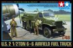 1-48-U-S-2-1-2-Ton-6x6-Airfield-Fuel-Truck