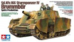 1-35-German-Assault-Tank-sd-kfz-166-Sturmpanzer-IV-Brummbar-Late-Production