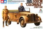 1-35-Italian-German-508CM-Coloniale-Staff-Car-Tamiya-Italeri