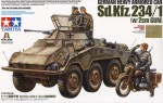 1-35-German-Heavy-Armored-Car-Sd-Kfz-234-1-w-2cm-Gun