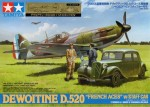 1-48-Dewoitine-D-520-French-Aces-w-Staff-Car