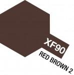 XF-90-NEMECKO-WWII-Red-Brown-2-Hneda-2-10ML-akrylic