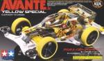 1-32-Avante-Jr-Yellow-Special-Clear-Body-VS-Chassis-Mini-4WD-Limited