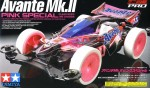 1-32-Mini-4WD-Avante-Mk-II-Pink-Special-Clear-Body-MS-Chassis