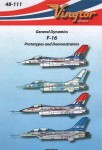 1-48-Reprinted-General-Dynamics-F-16-Prototypes-and-demonstrators