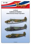 1-72-Lockheed-C-60-Lodestar-and-Hudson-in-WWII-BOAC-markings