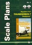 Republic-P-47D-Thunderbolt-Bubbletop-Scale-plans
