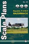 Republic-P-47B-P-47D-Thunderbolt-Scale-Plans