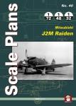 Scale-plans-of-Mitsubishi-J2M-Raiden