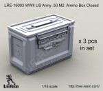1-16-WWII-US-Army-50-M2-Ammunition-Ammo-Box-Closed