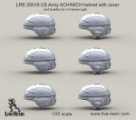 1-35-US-Army-ACH-MICH-helmet-with-cover-and-Surefire-HL1-A-Helmet-Light