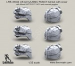 1-35-US-Army-PASGT-helmet-with-cover-with-Mount-NVG-PVS-7-14-15-and-covered-goggles