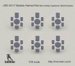 1-35-Ballistic-Helmet-Pad-Mine-Safety-Appllianse-MSA-Skydex
