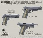 1-35-Colt-M45A1-M1070CQBP-MARSOC-45-pistol-slide-catch-and-hammer-ready-version