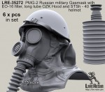 1-35-PMG-2-Russian-military-Gasmask-with-EO-16-filter-long-tube-OZK-Hood-and-STSh-40-helmet
